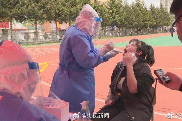 吉林舒兰高三学生全面接受核酸检测