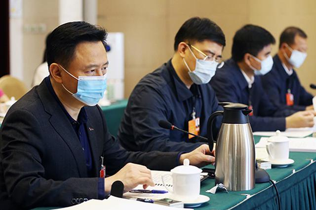 吉林省代表团举行分组会议 审议决议草案和建议表决稿 巴音朝