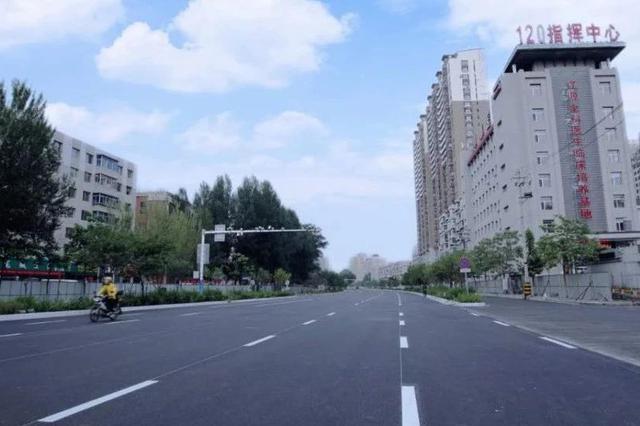辽源这条主路路面改造工程提前完工 6月26日通车