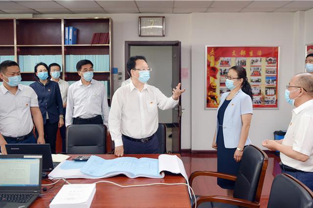 景俊海参加党支部联系点主题党日活动并在吉林省审计厅调研