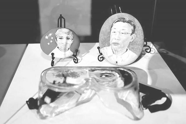 吉林省抗疫主题美术·摄影作品展在长春开展