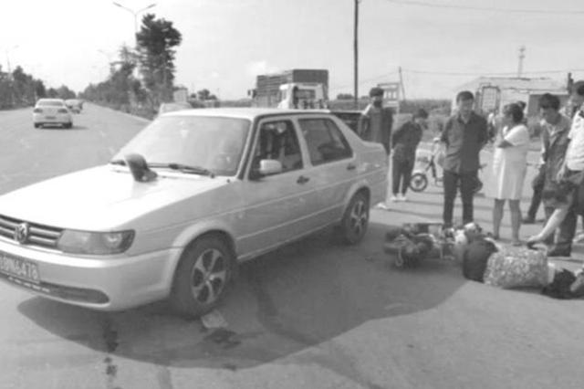 上班途中遇见交通事故大安三名警务人员举动暖人心
