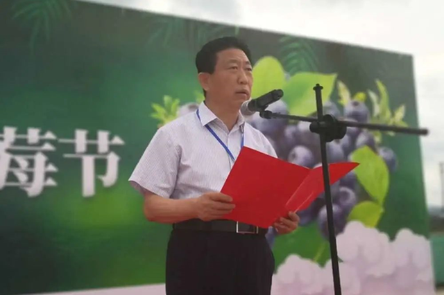靖宇县第四届长白山蓝莓节线上开幕