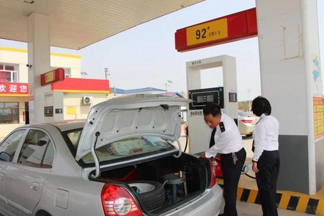 辽源市市场监管局开展加油站加油机计量器具专项监督检查