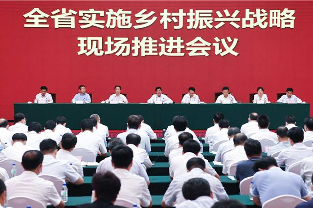 吉林省实施乡村振兴战略现场推进会议在长春召开