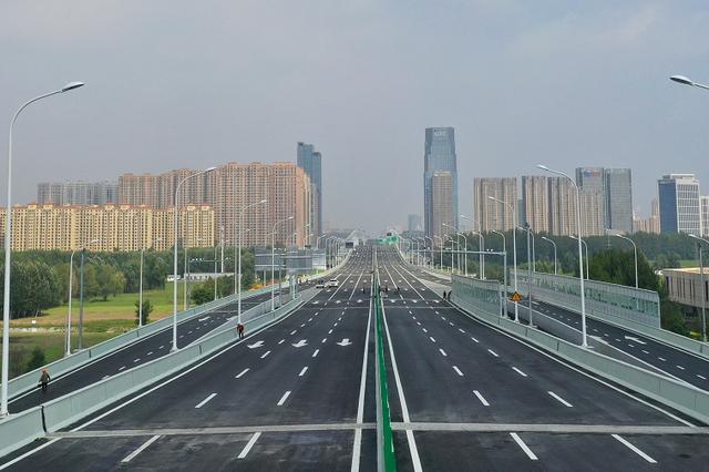 长春东部快速路南延长线工程桥梁主线将提前通车