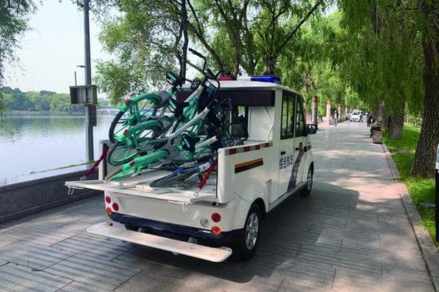 长春南湖公园官方呼吁文明游园 曾有孩子险被自行车撞到
