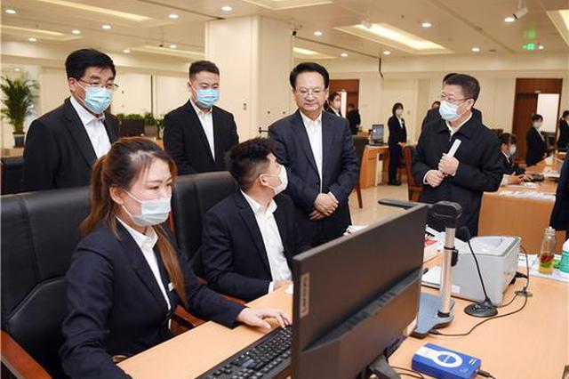 景俊海到长春市政务大厅督导检查工作