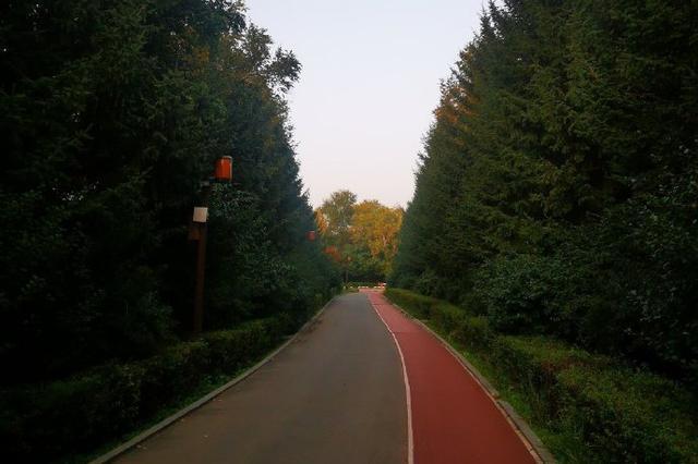 漫步南湖公园