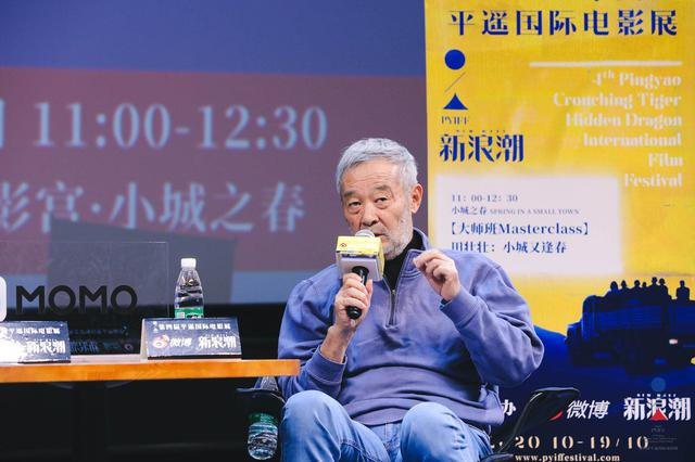 田壮壮:我快70岁了,还得为电影鞠躬尽瘁