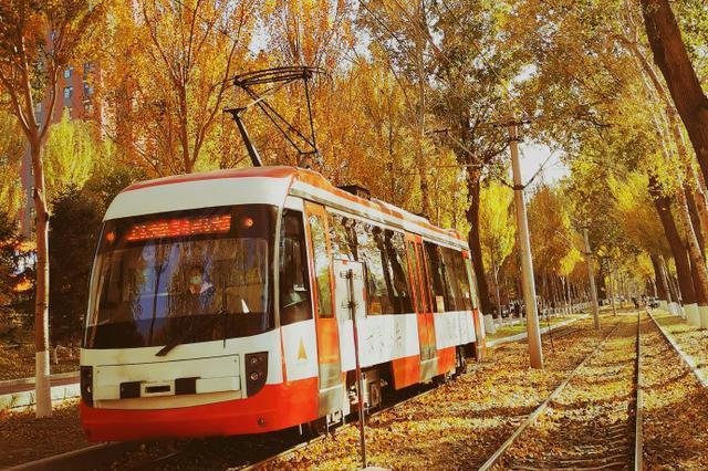 秋天里的有轨电车