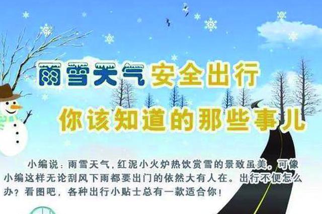 切记冰雪路面开车一定要控速、控距、少超车