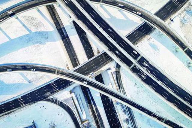 长春市主要街路和高架桥路见本色