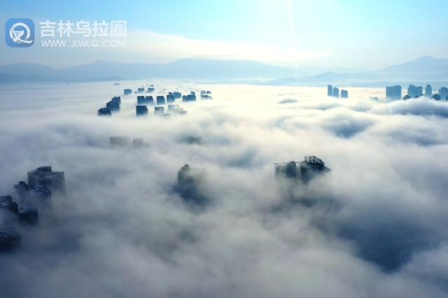 """""""繁花""""频开!2月8日 雾、凇再满江城"""