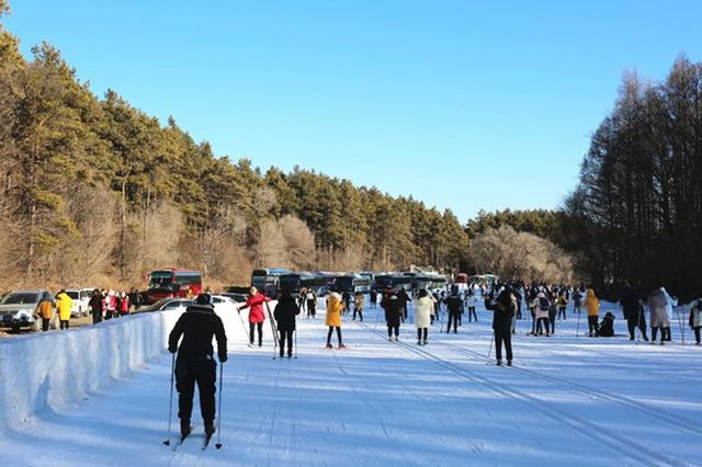 净月潭越野滑雪场今日起停止营业,下个雪季我们再相会!