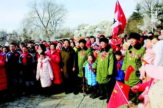 """通化""""快闪""""版《唱支山歌给党听》唱出东北抗联精神的新时代"""