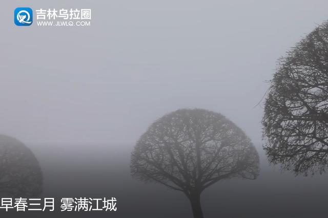 早春三月 雾满江城