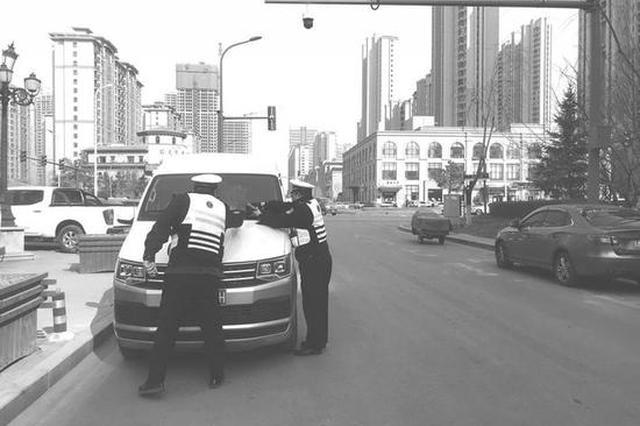 长春交警将对天富北路进行规划 确保市民通行顺畅