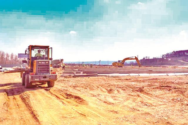 延长高速桦甸段全线复工建设