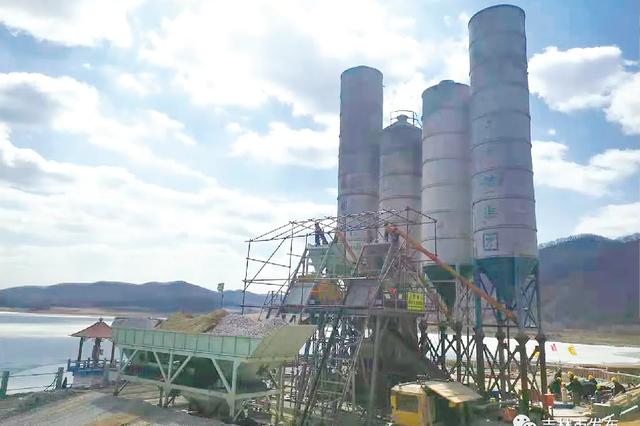 吉林市胖头沟水库除险加固 计划主汛期前完成主体工程