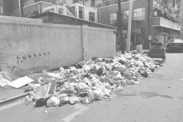 长春丽景秀苑小区垃圾成堆 居民希望赶快清理