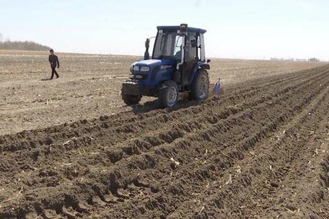 吉林省大田播种全面展开 强化保护性耕作 为春耕打牢基础