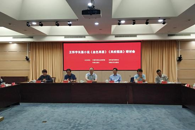 王怀宇长篇小说《血色草原》《风吹稻浪》研讨会在京举行