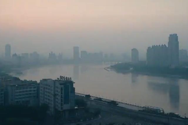 看多了日落和晚霞 带你看一下吉林市凌晨三点半的日出