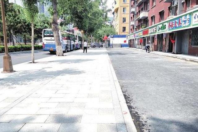 长春市解放大路提升改造工程基本完工