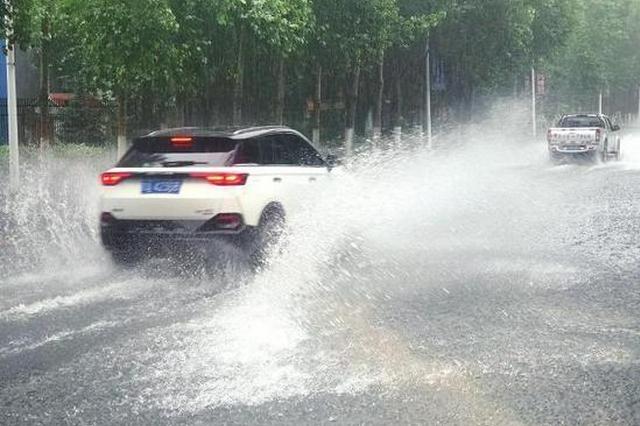 长春暴雨袭城!不少车辆受困 这些易积水路段注意绕行