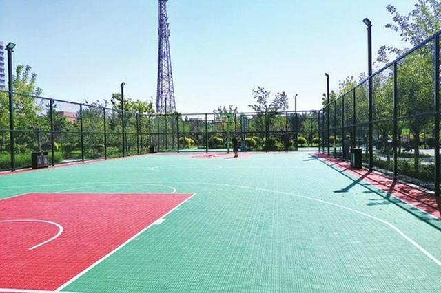长春市多个公园新增群众体育健身场地