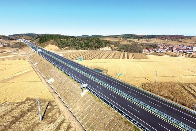集安至双辽高速公路辽宁段项目年内将建成通车