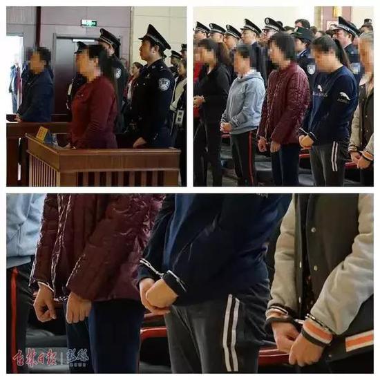 四平市铁西区人民法院公开审理被告人刘某某等犯罪团