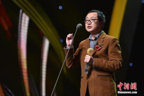 刘慈欣资料图。中新网记者 金硕 摄