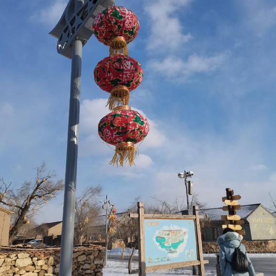传统东北乡村民居景色一览