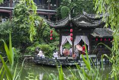 中国唯一穿汉服才能进的园林