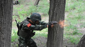 """武警长春支队""""魔鬼周""""极限训练"""