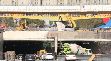 长春南四环下穿临河街隧道10月16日通车