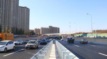 长春市南四环路下穿临河街隧道正式通车