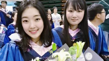 花滑美女李子君从吉林大学硕士毕业