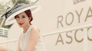 林志玲婚后晒写真变优雅少妇