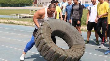 直击吉林重竞技运动员体能比武