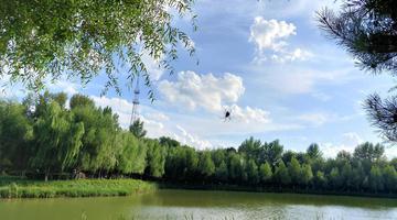 长春锦绣公园景色宜人