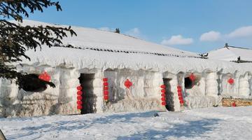 傳統東北鄉村民居景色一覽