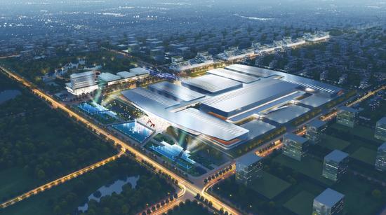 东北亚国际博览中心项目效果图
