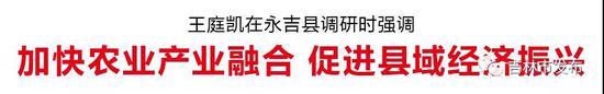 王庭凯:加快农业产业融合 促进