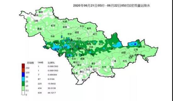 近期吉林省气温稍降 雨水将继续