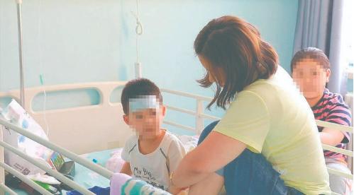 在长春市儿童医院消化内科治疗的姐弟,目前都已经康复出院 长春晚报记者 王娜 摄