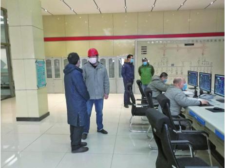 吉林市工信局指导企业复工复产。