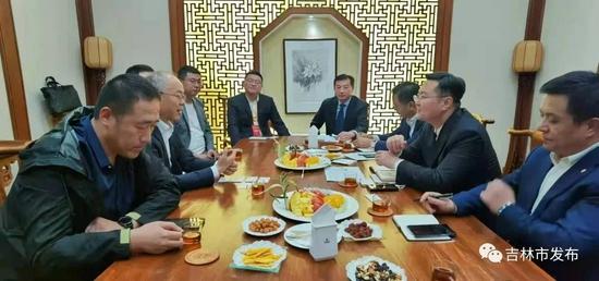 吉林市市长王路与首届中国新电商大会参会企业进行深入洽谈